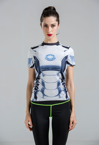 Ironman Model 50 Superhero Compression Shirt