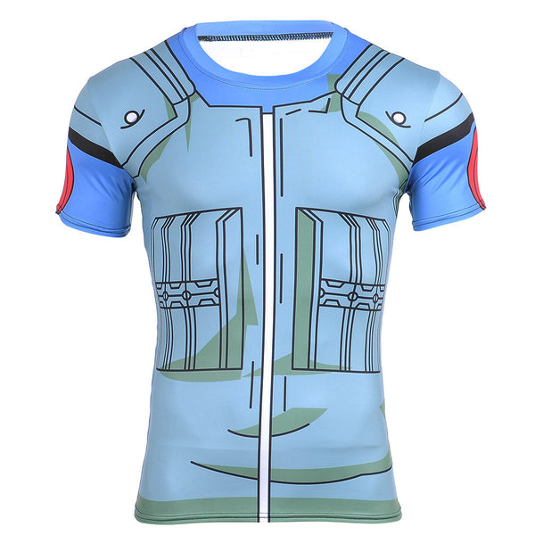 Kakashi Compression Shirt - Short Sleeve