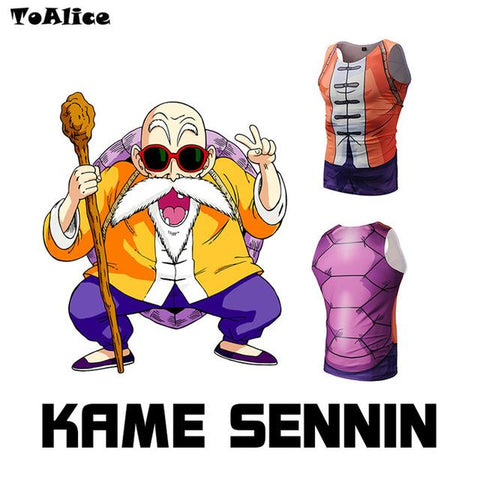 Master Roshi Compression Tank Top