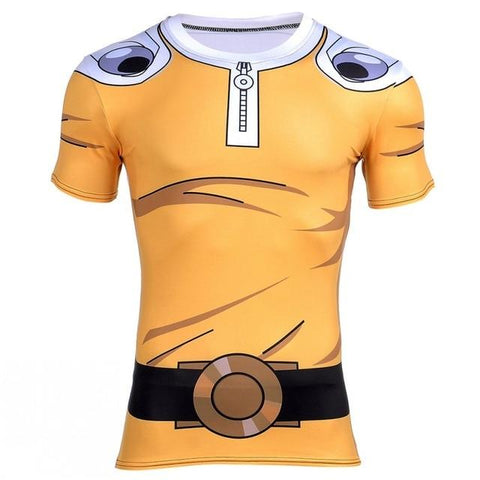 One Punch Man Compression Shirt - Short Sleeve