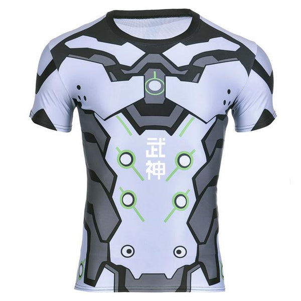 Overwatch Genji Compression Shirt