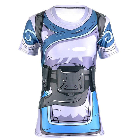 Overwatch Mei Compression Shirt - Short Sleeve