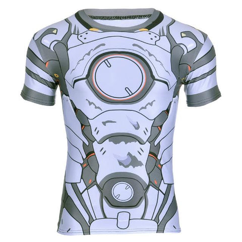 Overwatch Reinhardt Compression Shirt