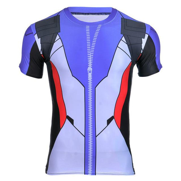 Overwatch Soldier: 76 Compression Shirt