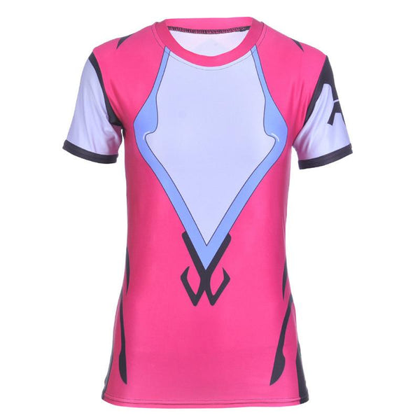 Overwatch Widowmaker Compression Shirt