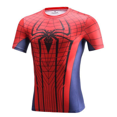 Spiderman Superhero Compression Shirt - Youth