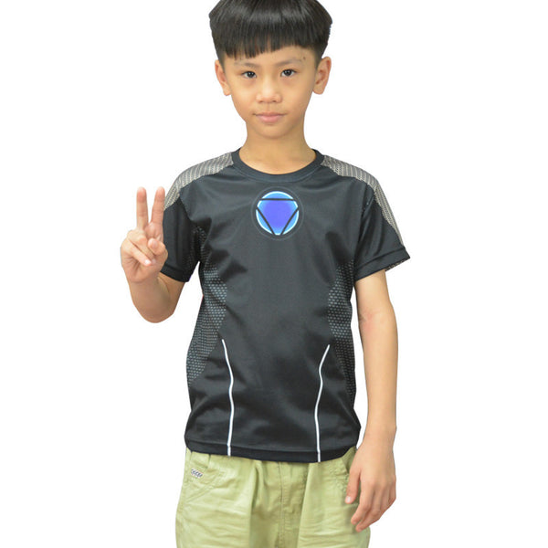 Tony Stark Ironman Compression Shirt - Youth