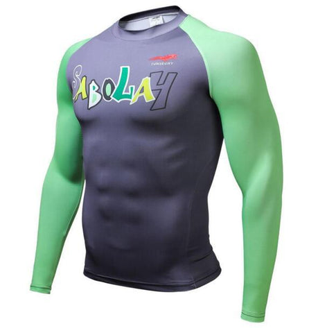 TUNSECHY Sabolah BJJ Rash Guard - Long-Sleeve