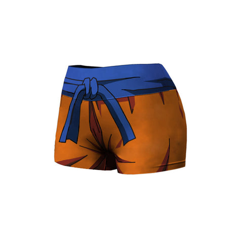 DBZ Goku Female Compression Shorts