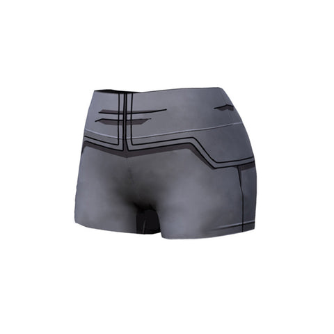 DBZ Vegeta Resurection F Armor Female Compression Shorts