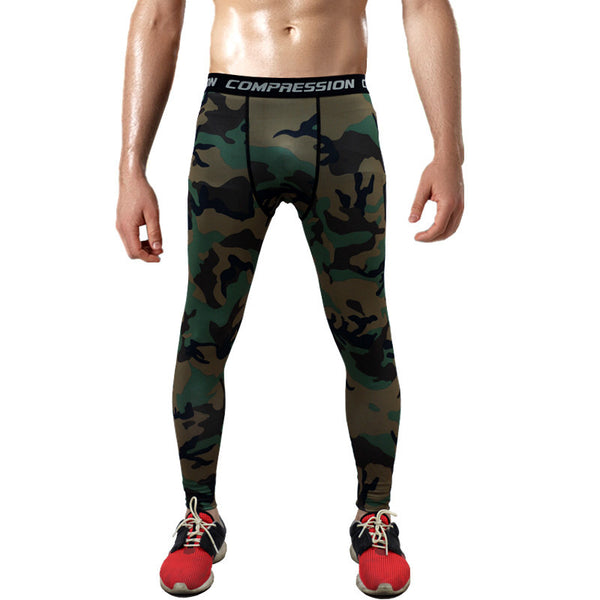 Combat121 Compression Pants - Forest Camo