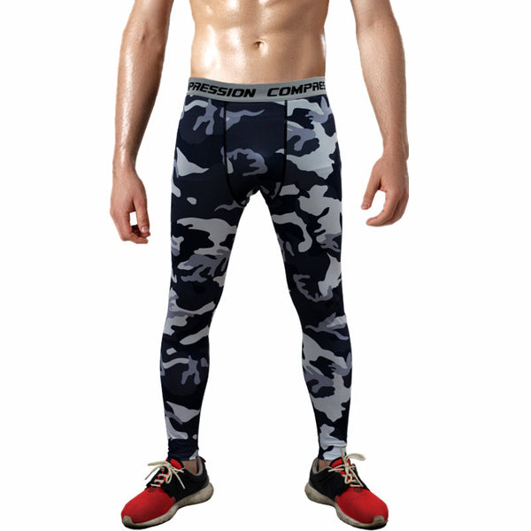 Combat121 Compression Pants - Night Camo