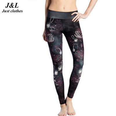 Combat121 Female BJJ Compression Spats - Angler Fish