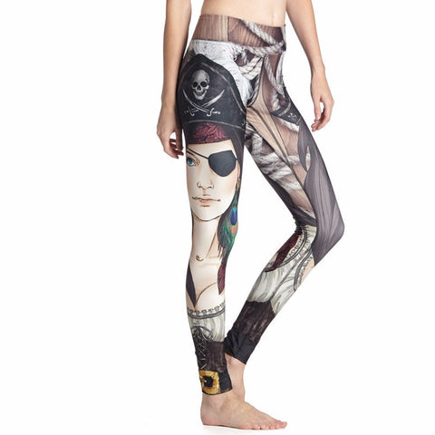 Combat121 Female BJJ Compression Spats - Pirate