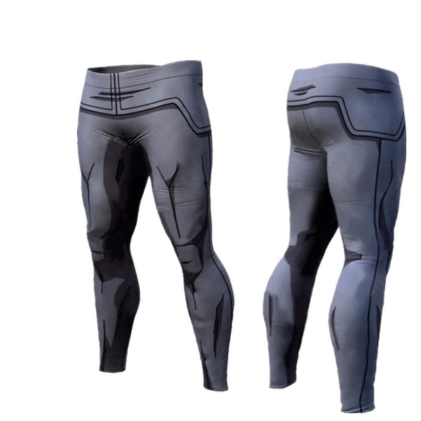 DBZ Vegeta Armor Compression Spats