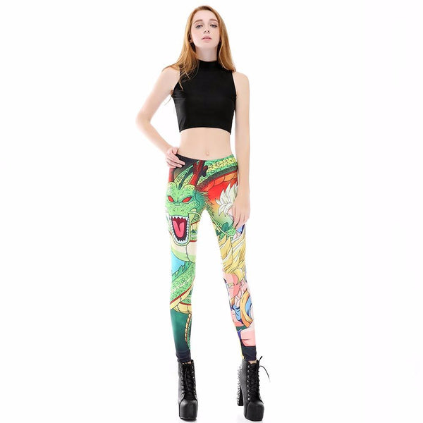 Dragon Ball Z Shenron Female Compression Spats