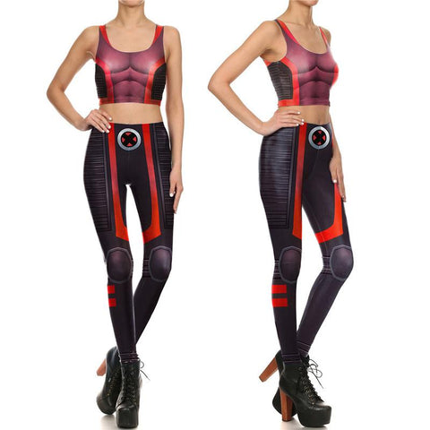 Female X-Men Compression Tank Top + Leggings