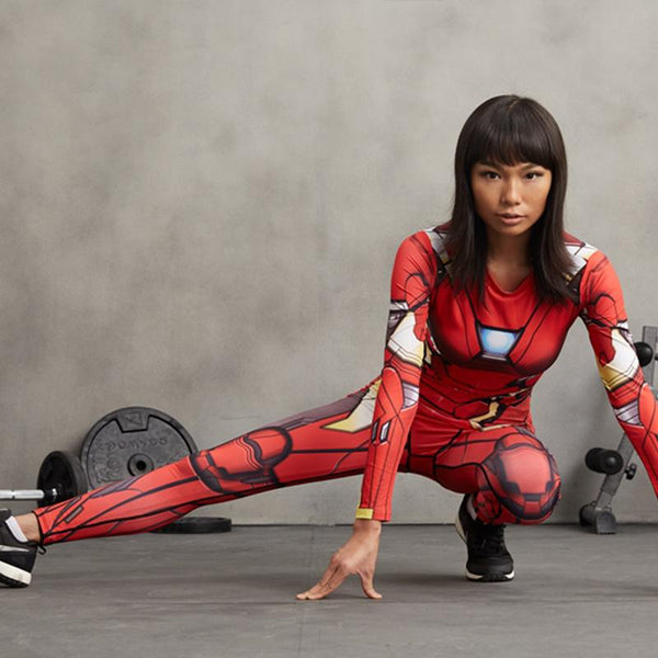 Iron Man Female Compression Leggings
