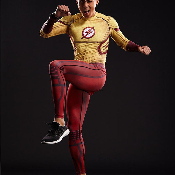 Kid Flash Compression Pants