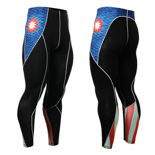 Life on Track Geometric America Compression Spats