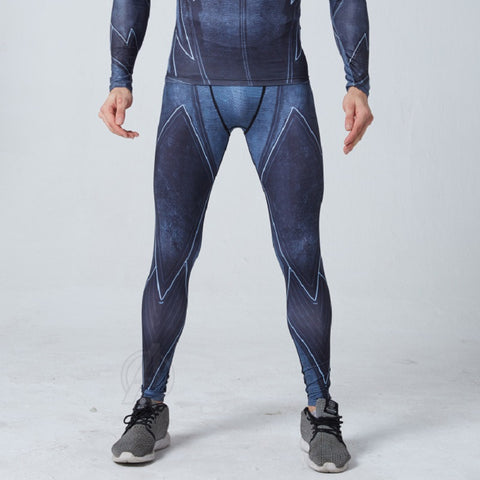 Stealth Flash Superhero Compression Spats