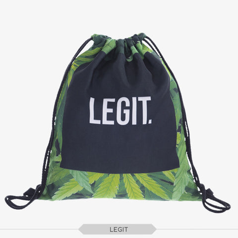LEGIT 420 Draw String Bag