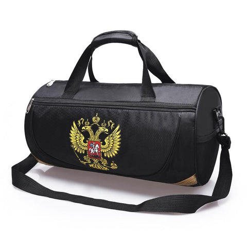 Sport MMA Duffel Bag With Russia Emblem