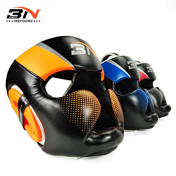 BN Full Face Boxing Headgear