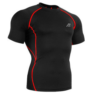 Life on Track Basic Short-Sleeve Rash Guard