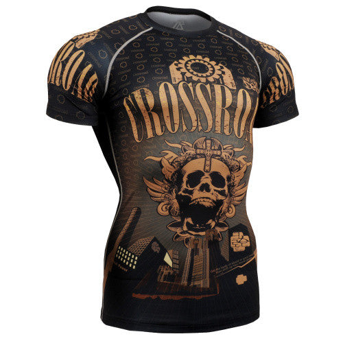 Life on Track Crossroad Short-Sleeve Rash Guard
