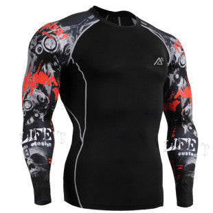 Life on Track CSI Long-Sleeve Compression Shirt