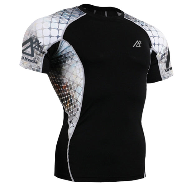 Life on Track Rash Guard - Cage Fighter