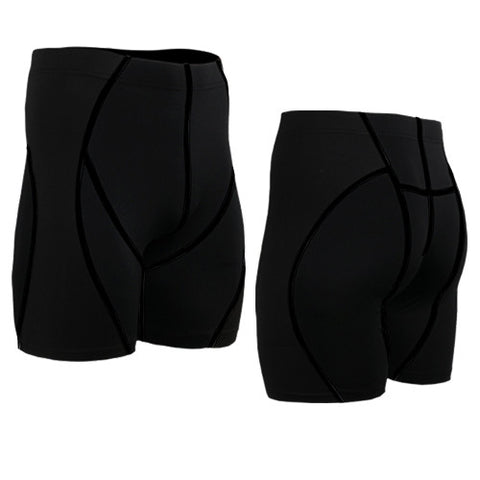 Life on Track Vale Tudo Compression Shorts - Black