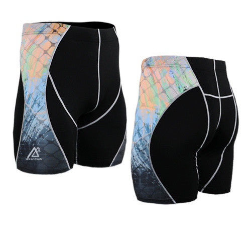 Life on Track Vale Tudo Compression Shorts - Cosmic Cage