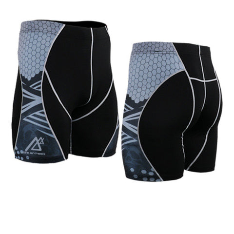 Life on Track Vale Tudo Compression Shorts - Scales