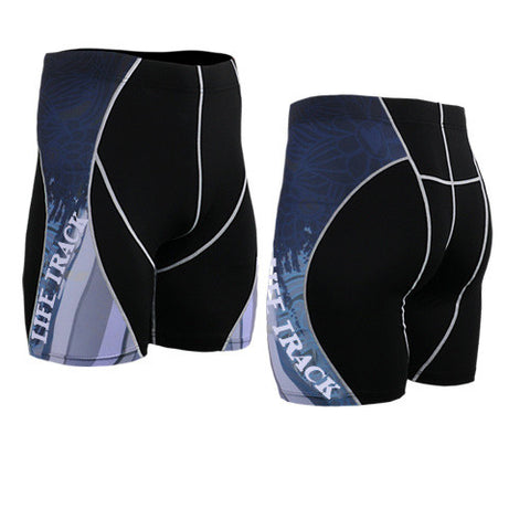 Life on Track Vale Tudo Compression Shorts - Spiderweb