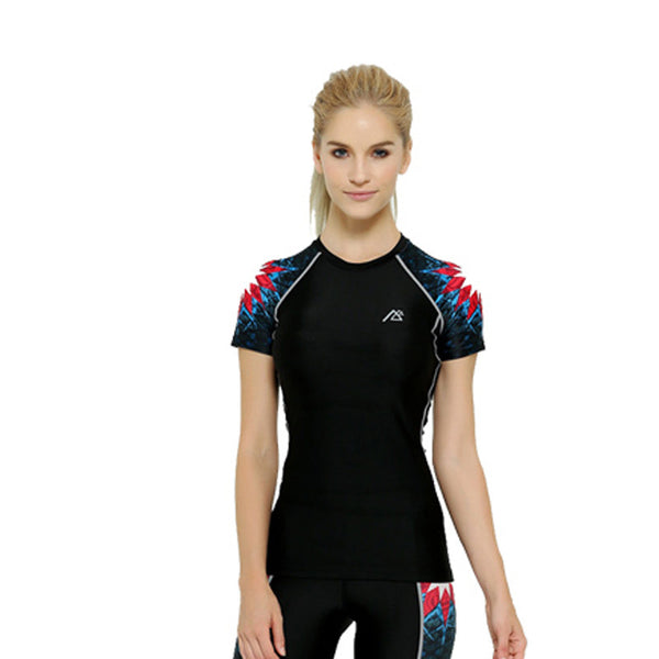 Life on Track Women's Compression Shirt - American Geo