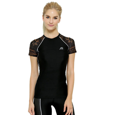 Life on Track Women's Compression Shirt - Crossroads
