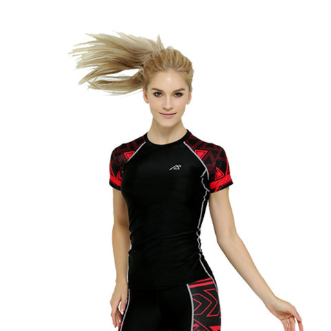 Life on Track Women's Compression Shirt - Tribal Ink