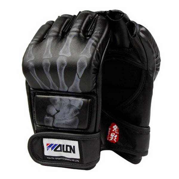 Wolon Skeleton Hand MMA Gloves