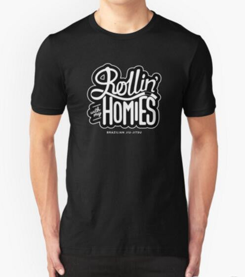 BJJ Rollin' With My Homies T Shirts