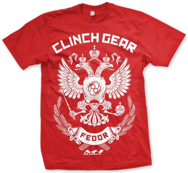 Clinch Gear Fedor MMA Shirt
