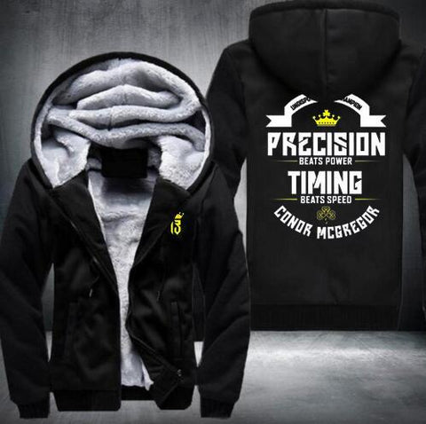 Conor Mcgregor Zip-Up Hoodies