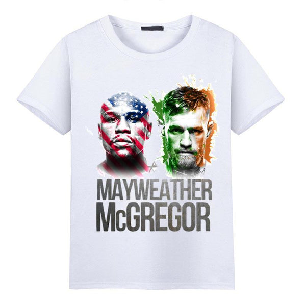 Floyd Mayweather vs Conor McGregor T-shirts