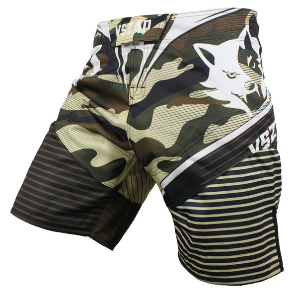 VSZAP Camo Fight Shorts