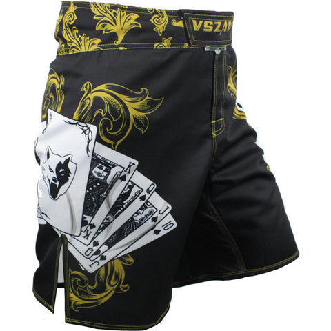 VSZAP Royal Flush Fight Shorts