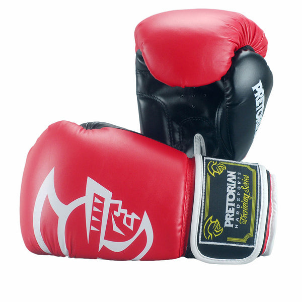 Pretorian Sparring Boxing Gloves - Red