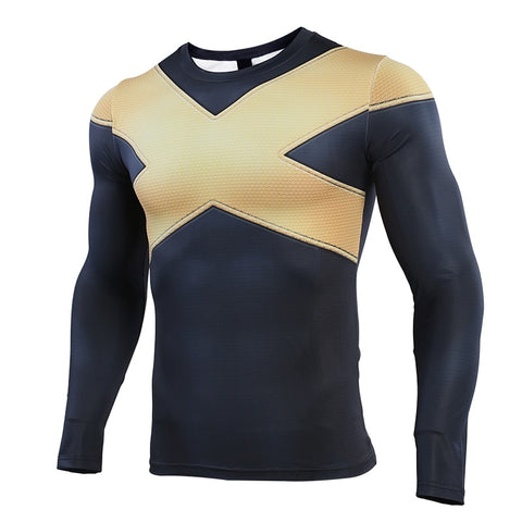 X-Men Dark Phoenix Compression Shirt - Long Sleeve