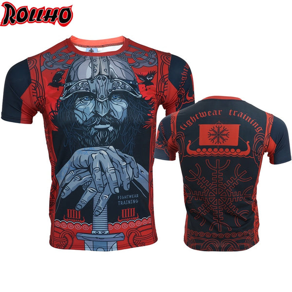 ROLLHO Viking Warrior Rash Guard