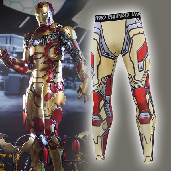 MK42 Iron Man Compression Spats